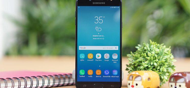 [รีวิว] Samsung Galaxy J7+