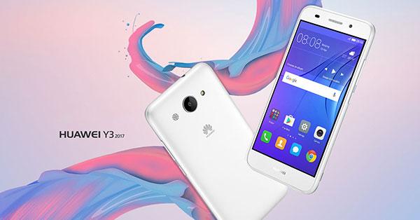 [รีวิว]เปิดตัว Huawei Y3 สมาร์ทโฟน 4G รุ่นประหยัด
