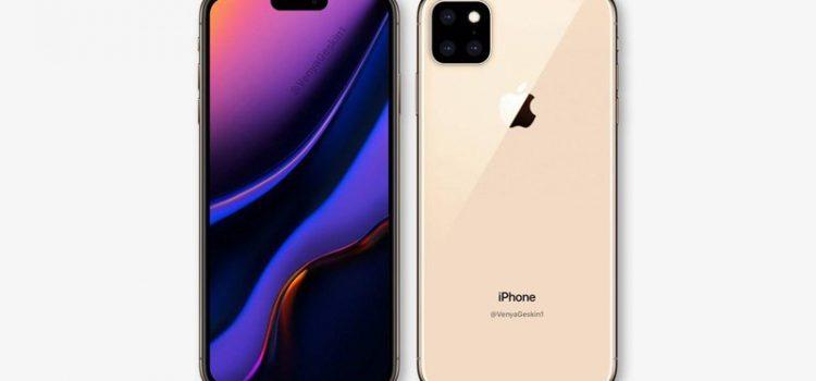 ภาพเรนเดอร์แรก iPhone XI รุ่นใหม่ ปี 2019 กล้องหลัง 3 ตัว