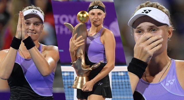 """""""ยาสเทรมสก้า"""" ดาวรุ่งยูเครนคว้าแชมป์ เทนนิส โตโยต้า ไทยแลนด์ โอเพ่น 2019"""